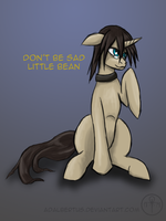Don't be sad little Bean by Adalbertus