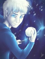 Jack Frost: Naughty or Nice? by wolfinrahalify