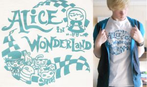 Alice Tee Design by keybladeherosora