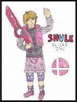 Shulk Forsees A Fight! by WalkerP