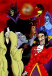 Disney Villains United by Phoenix901