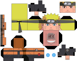naruto by hollowkingking