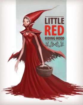 little red riding hood by Rats-in-the-van