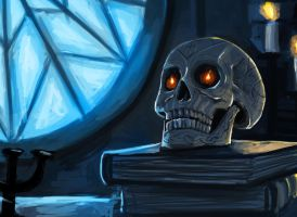 Dresden Files: Bob The Skull by Olieart