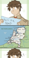 Map of Holland by SparxPunx