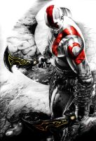 Kratos - God of War III by Jansen32
