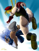 Street fighter Tribute entry by ErikHodson