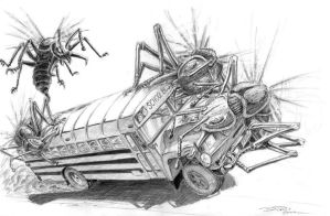 THEM attack bus by ARMORMAN