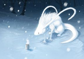 Warming the Snow by Keprion