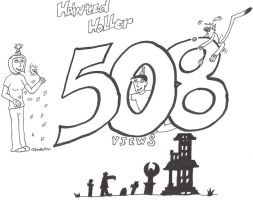 Over 500 Views by hainted