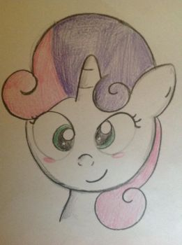 Sweetie Belle by TapedCassette