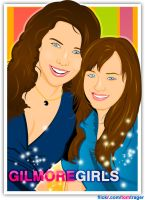 Gilmore Girls by TomTrager