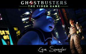 Ghostbusters Wallpaper Egon by MartynTranter