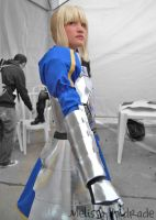 Saber - FateStay Night 1 by melissa-andrade