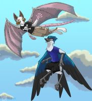 Flying High - Giftart for 5k by Snowsilver