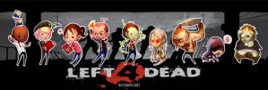 Left4DeadChibiStickers by ShyCustis