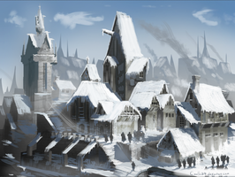 Castle City by Coolb3rt
