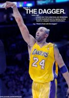 Kobe Bryant: The Dagger by IshaanMishra