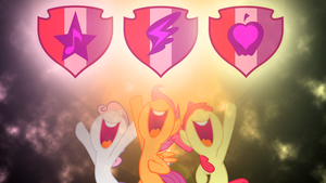 Cutie Mark Crusaders FOREVER! by Damuchi99