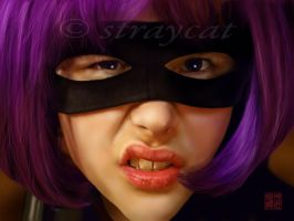 The Hit Girl by straycat27