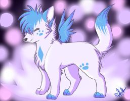 .:AngelPup RQ:. by Nayobe