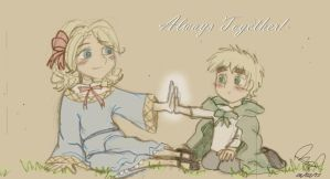 APH - FrUk, Always Together! by luzb