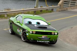Cars Dodge Challenger by Steven304