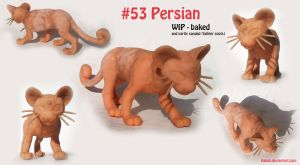 WIP - Persian Pokemon Sculpture by Aakali