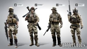 US classes BF4 by farcrykiller225