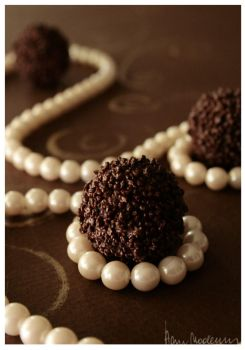chocolate jewellery. by anay