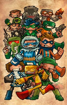 flash rogues by WOLVERINE76