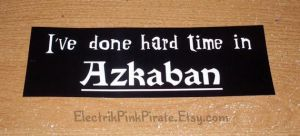 I've done hard time in Azkaban by ElectrikPinkPirate