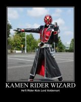Kamen Rider Wizard by psyclonius