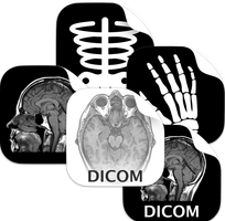 iOS style dcm (DICOM) icons by ChilliTrav