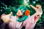 Take my picture! - Ranka Lee from Macross Frontier by dolcedon