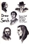 Drew Sarich's roles by Sunny20K