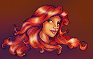 Starfire by RamblinQuixotic