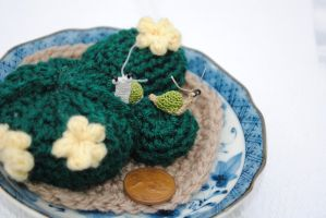 Crocheted Mini Snail II by loveforgotten