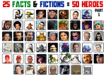 My 50 Characters PART1 by Wilku333