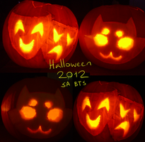 2012 Halloween Pumpkin Carvings! by ThisAccountIsDead462