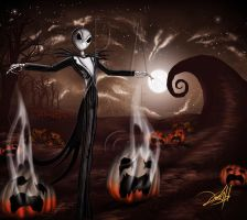 Jack Skellington Soul Taker by kndhdz