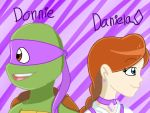 Donnie and Daniela  by smileprettycure