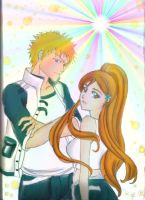 ichihime colored by orihime22