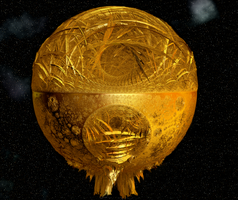 Spherical Kleinian in Gold by Tate27kh