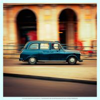 The British Cab by DREAMCA7CHER
