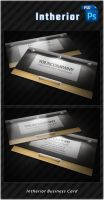 Intherior Business Card by k0z3y