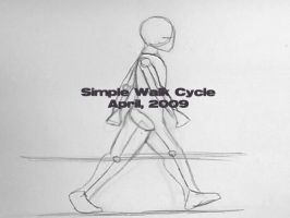 Simple Walk Cycle by Otacon144