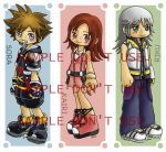Kingdom Hearts II Bookmarks by superdonut