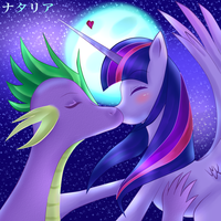 Twilight X Spike Colored by Behond