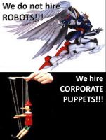 Corporate Puppets by Zephydel